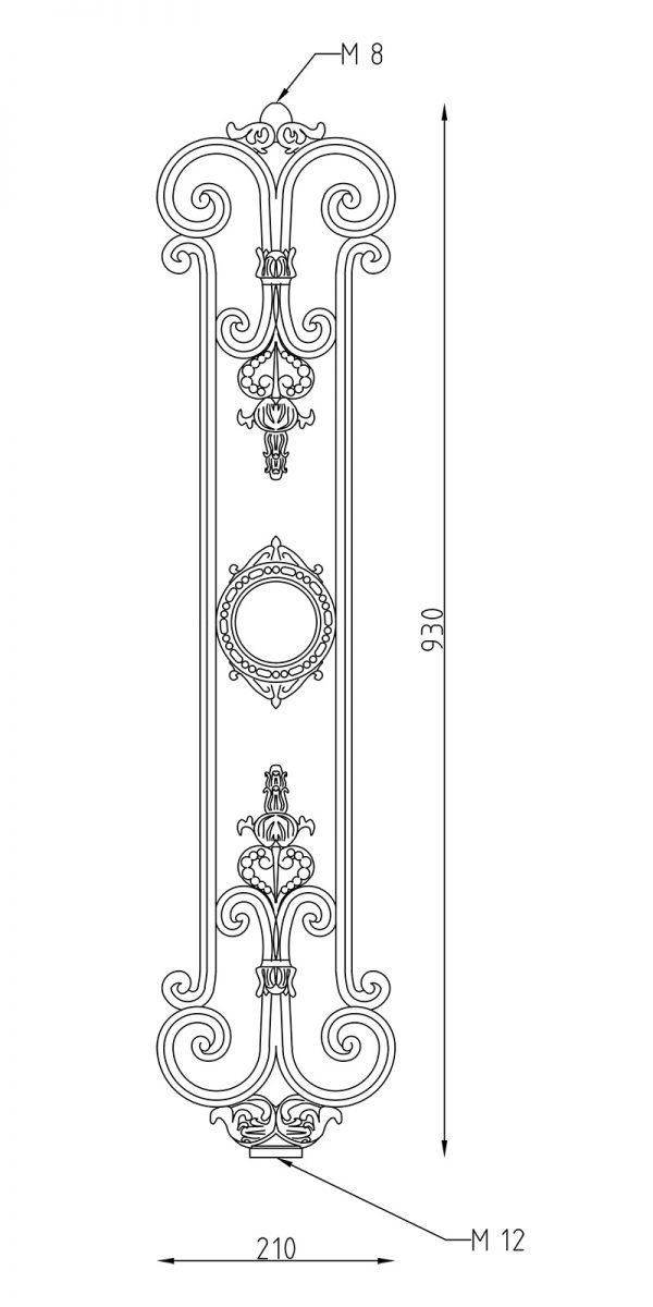 ER030 disegno tecnico